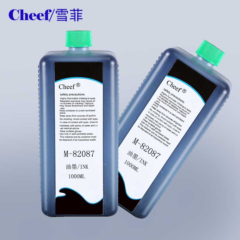 Black ink M-82087 for Rottweil continous ink jet printer