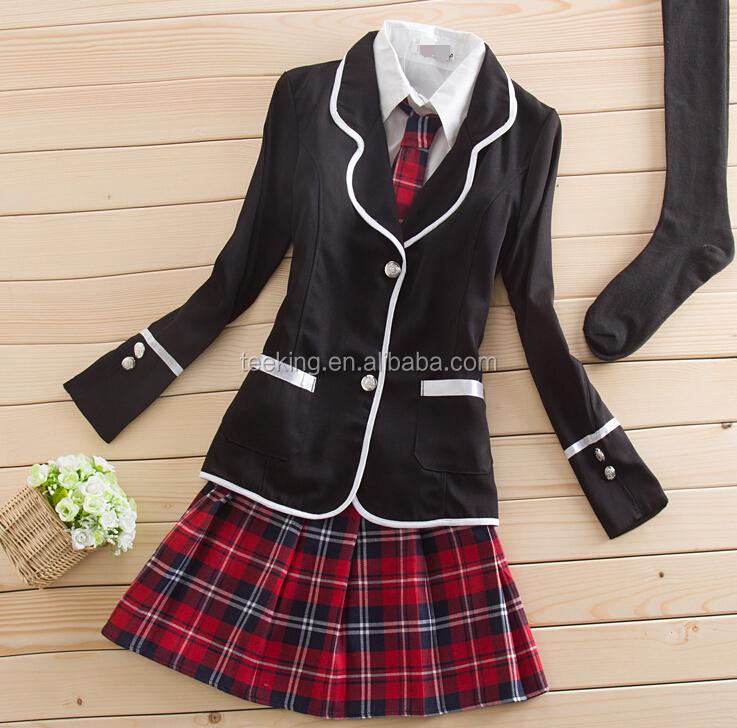 Wholesale 2017 Fashion Style Korean High School Uniforms