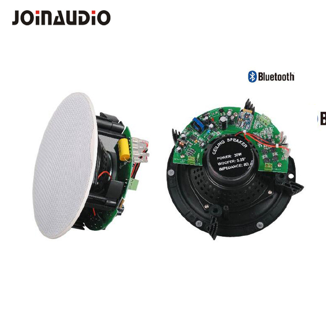 Good Quality Hifi Weatherproof Ceiling Speaker Sets With BT Wireless  Speaker Background Sound System For Hotel
