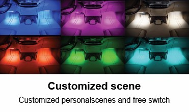 Smart Car Decoration Accessories For Interior Fiber Optic Kit B ...