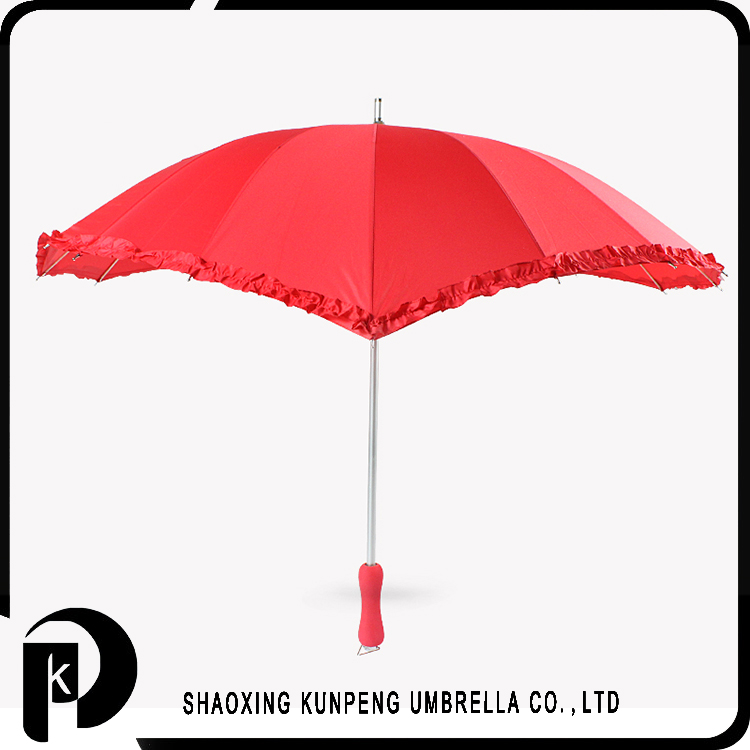 Customized wedding decoration wedding umbrella parasol