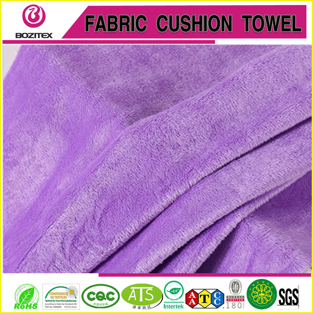 Wholesale High Quality Flocked Velvet Fabric