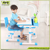 2017 Kids desk chair height adjustable non-toxic writing children study desk with led lamp