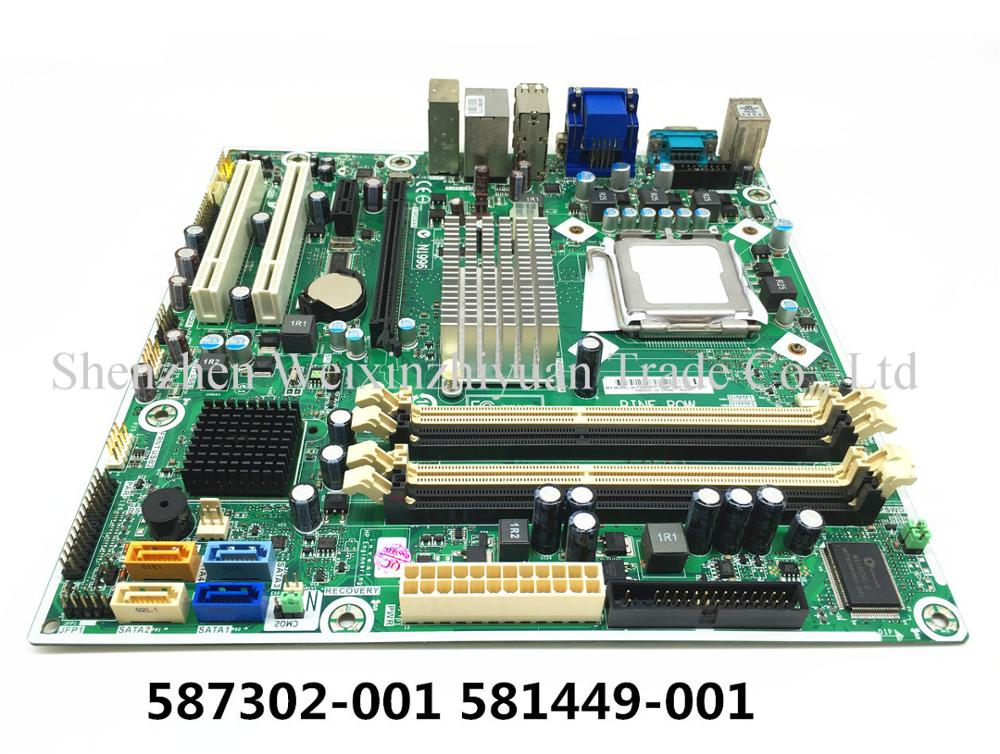 For Hp Pro 3000 3080 Mt Motherboard Mainboard 587302-001 581449-001 Lga775  G45 100% Tested - Buy For Hp Pro 3000 3080 Desktop Motherboard,587302-001