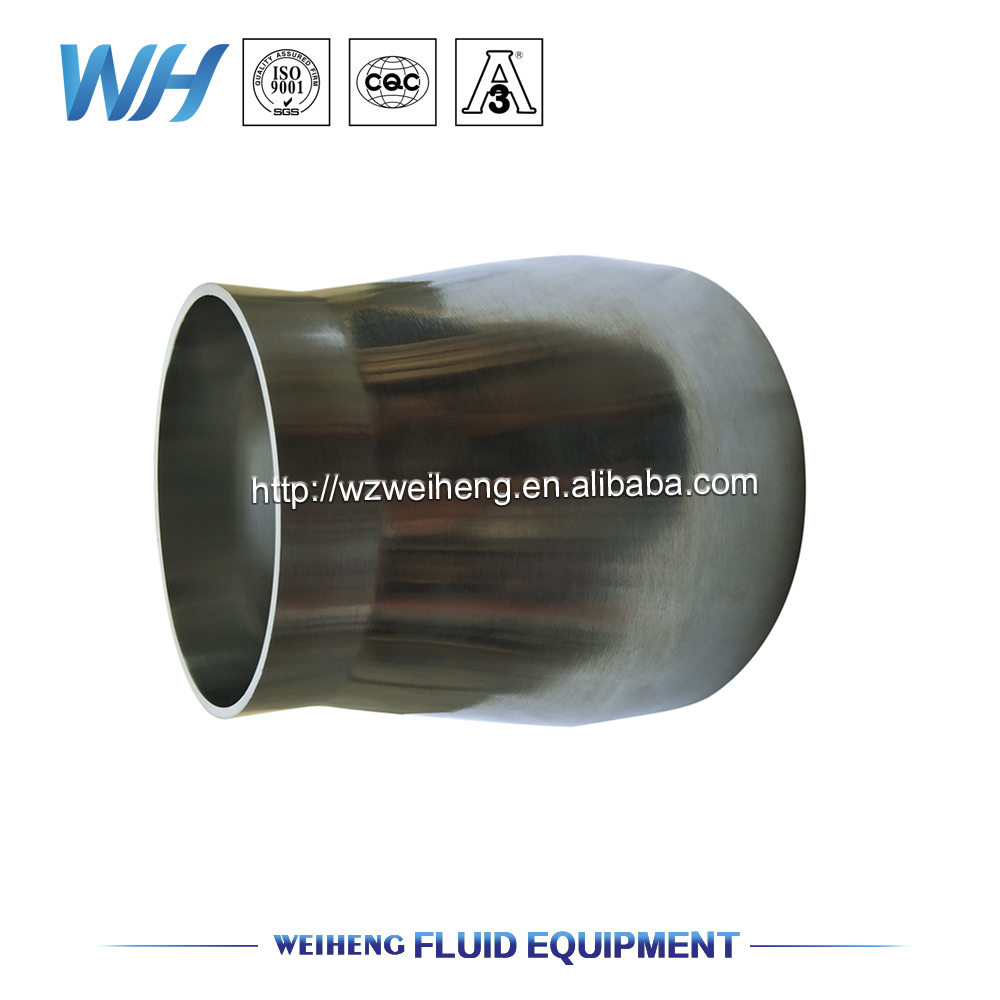 buttweld concentric reducer, holders sanitary,stainless steel reducer