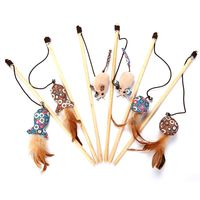 China cat hanging toys with fish or mouse and cat plush toy for cat playing products (KS2012)