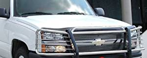 2003 2004 2005 2006 Chevy Avalanche 1500 (Without Cladding) stainless steel Modular Grille Guard Brush Nudge Push Bar