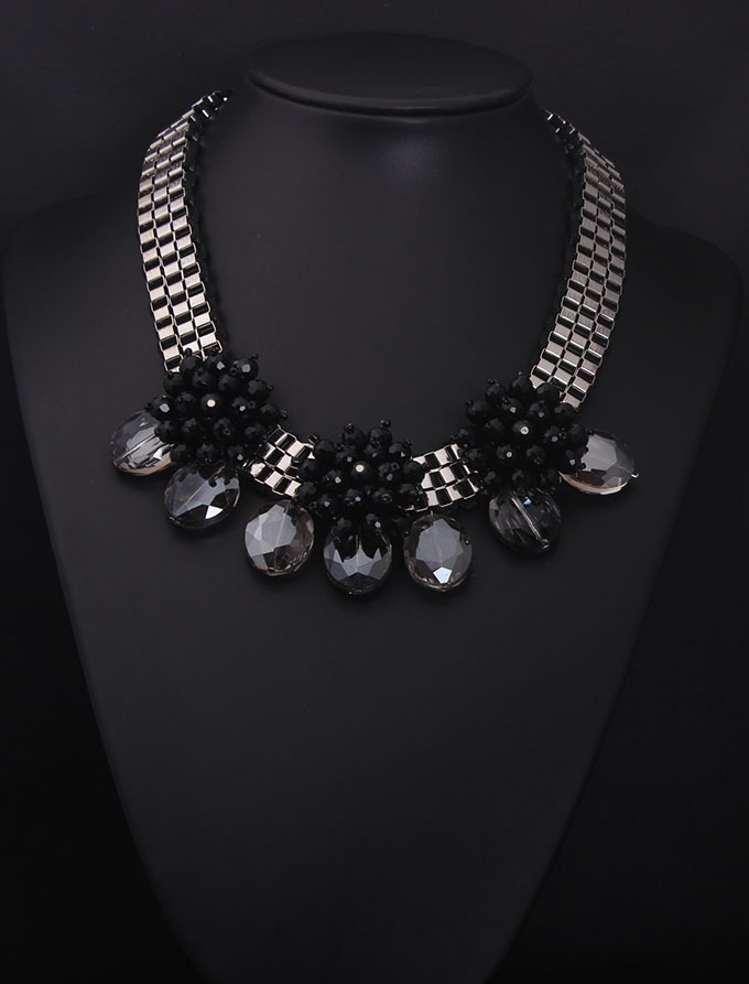 Fashion jewelry buy china high quality black gold jewelry handmade