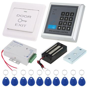 New 125khz Rfid Card Reader Door Access Control Security System Kit