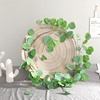 Faux Eucalyptus Leaves Greenery Garland for Wedding Backdrop Table Runner Decor