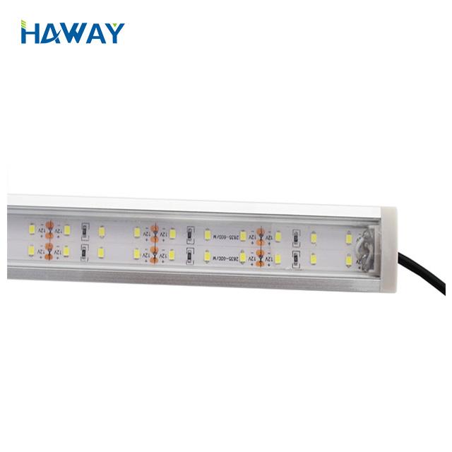Best Price waterproof IP68 IP65 RGB 24V SMD5050 9.6w/m 120led/m Led Rigid Strip bar Light