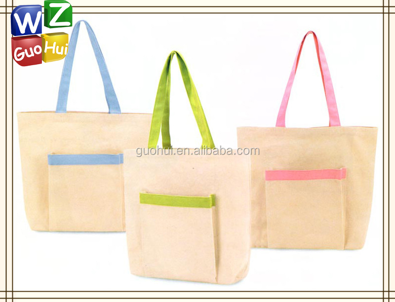 Cute Cotton Canvas Fabric Shopping Bag,Cotton Canvas Tote Bag With ...