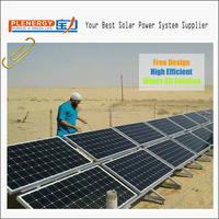 Monocrystalline 320w 5kw off grid solar system for home