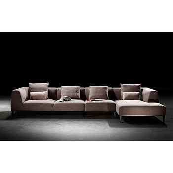 Fashionable designer comfortable brown l shape fabric sofa, View l shape  fabric sofa, JanYet Product Details from Foshan Janyet Furniture Co., Ltd.  on ...