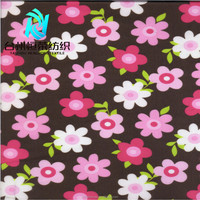 Flower Printed fabric with PVC PU TPU Eco-friendly for kids