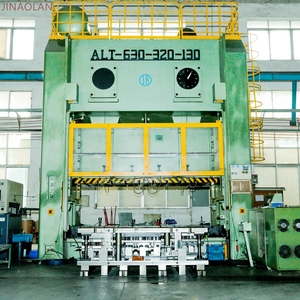 kinglan alc progressive die metal paper cup printing and punching machine for metal hinge
