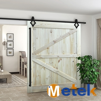 Traditional Classic Sliding Barn Style Doors For Interior