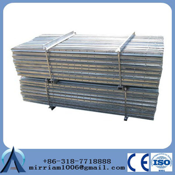 galvanized wire fencing--old factory