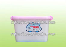 china outdoor fuinitures eco-friendly plastic multifuction storage box with folding lid and handle