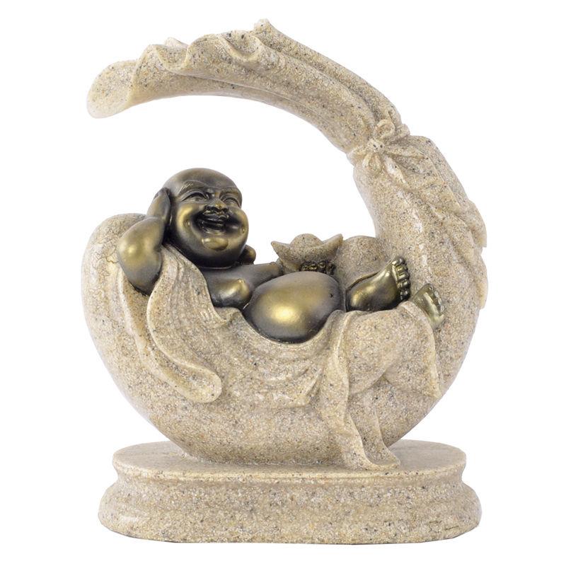 Polyresin Thai Buddha Statue Home Decoration Indoor Handicrafts 159004