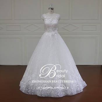 XF16033 Elegant Wedding Gown Rentalchina Guangzhou Dress Factory