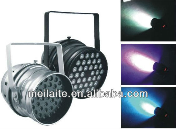 36x3w led par stage light par 64