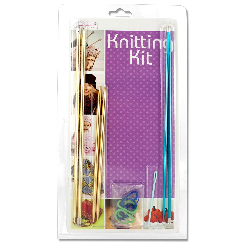 123-Wholesale - Set of 6 Multi-Purpose Knitting Kit - Sewing & Needlecrafts Needles & Needle Sets