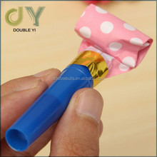 wholesale colorful blowout for party decorations Colorful Plastic Whistles