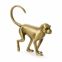 Size can be customized animal sculpture brass monkey