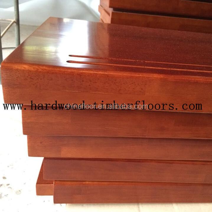 Brazilian Cherry Wood Stair Tread ...