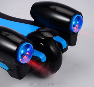 New products child toy kick scooters with rocket lights and steam fire