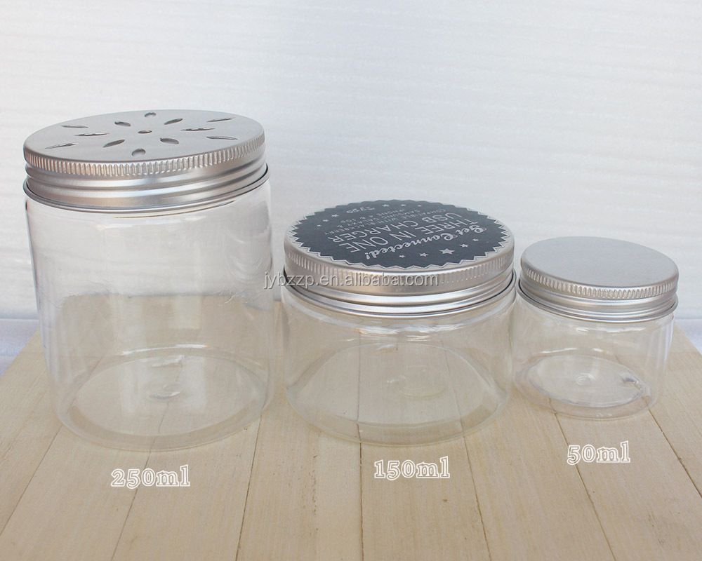 Clear Plastic Paint Cans 100g Pet Container Plastic Jar For Pharmacy View Clear Plastic Paint Cans Oem Product Details From Guangzhou Jingye