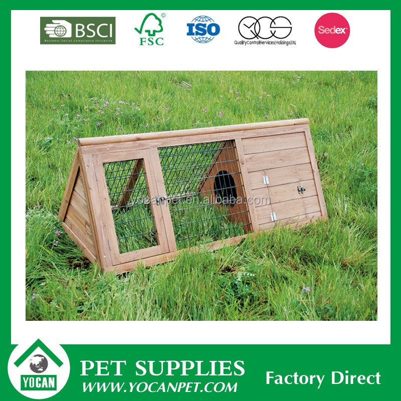 Good quality Creative Design rabbit hutch and run