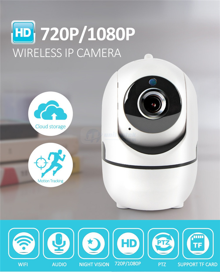 Factory Direct 720P/1080P Hight Quality IP Camera App Software Download  WIFI Wireless Pan Tilt IP Camera, View wireless pan tilt ip camera, NONE