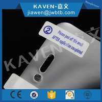 Factory Wholesale Adhesive Sticker Label for Mobile Phone Screen Protector