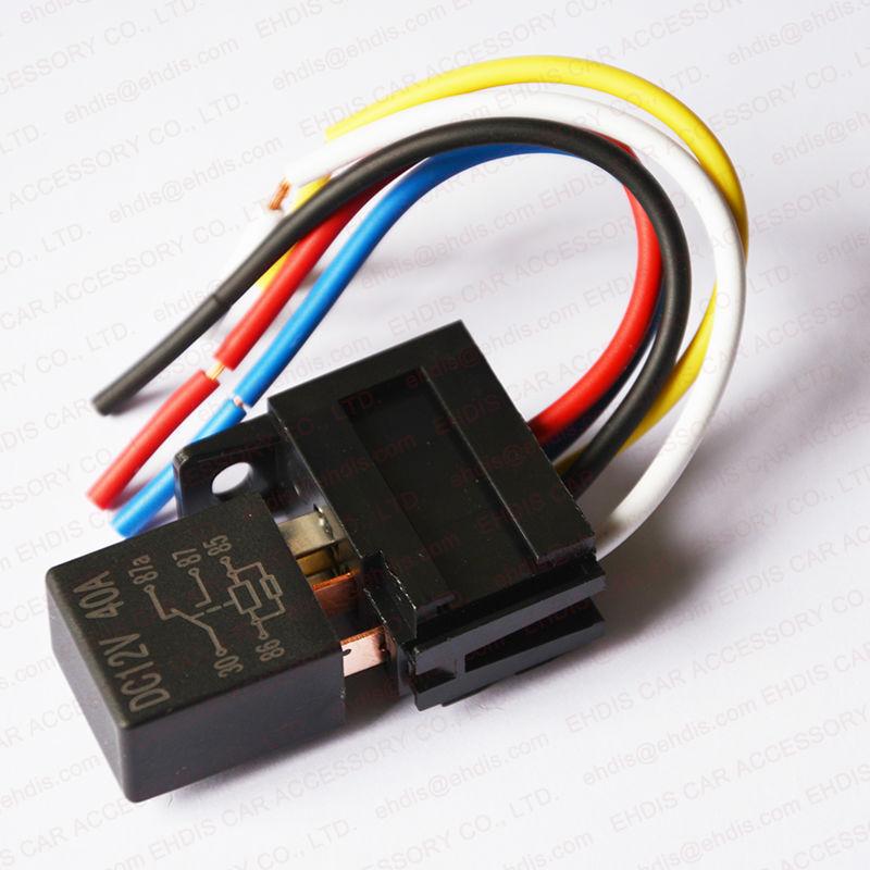 C Violet Auto Relay Socket V V Pin Relay Socket Buy - 5 pin relay socket