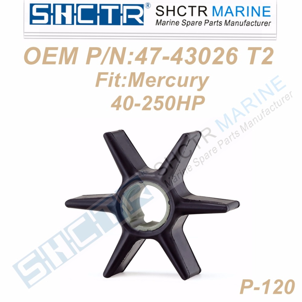 OEM Outboard impeller for Mercury 47-43026-T2 18-3056 40-250HP