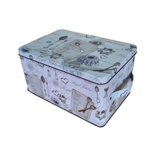 large rectangular classic storage use mailbox tin box for letters