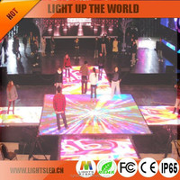 High Quality Popular Indoor P5 LED Dance Floor for Party and Club Interactive Sign Display Manufacturer