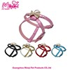 Good quanlity solid color pet dog harness cute dog harness manufacturers