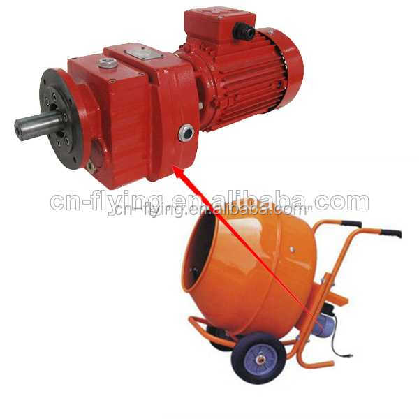 R In Line Helical Gear Reduction Boxes for hand operated beton mixer