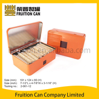 Rectangular Gift Biscuit Cookies Tin Box with Hinged Lid Pre-packing Confectionery reliable mainland factory