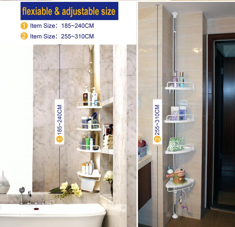 Jyxf Roestvrij Staal Badkamer Muur Hoek Rek Jyy-604d Shampoo - Buy ...
