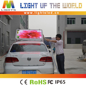 LS-1828A P5 led moving taxi message display/running message text led display board