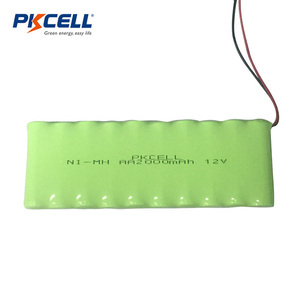 2000mah 12v nimh rechargeable battery pack with cable