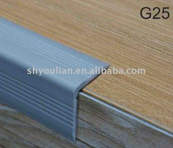 Floor Edge Profile Pvc Corner Guard Vinyl Flooring Capping