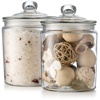 Honey Sugar Jar Mixes Candy Favors Bath Salt Bottle /Airtight glass storage jars