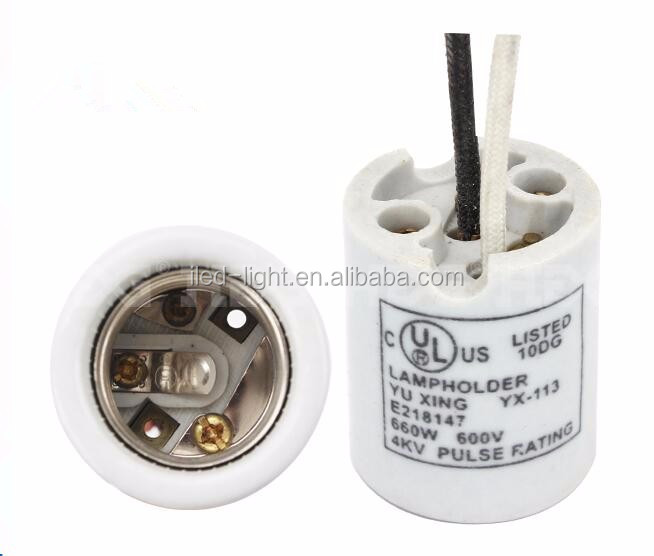 Porcelain Ceramics E26 E27 E12 E14 E39 E40 light bulb lamp socket base holder
