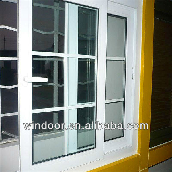 Export standaard pvc schuifraam met duitse hardware ramen for Window in german