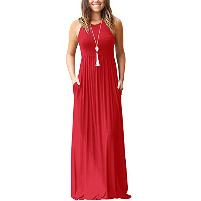 Latest <strong>Dresses</strong> Women O Neck Long Party Ladies <strong>Dress</strong>